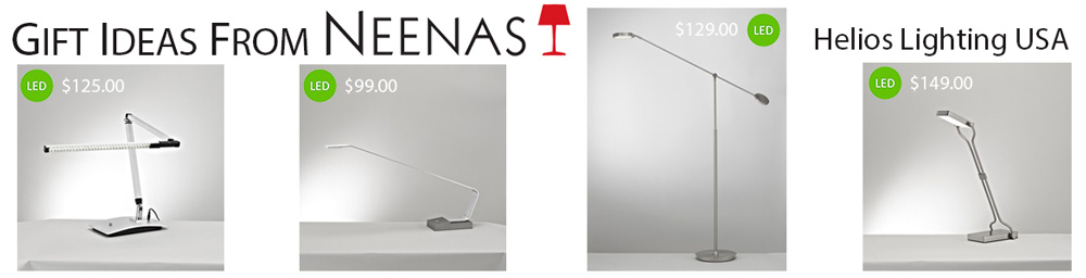Gift Ideas From Neenas - Helios Lighting USA