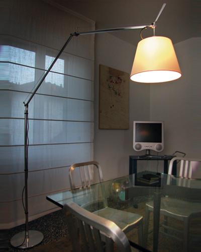 Artemide tolomeo mega floor floor lamp neenas lighting for Mega floor