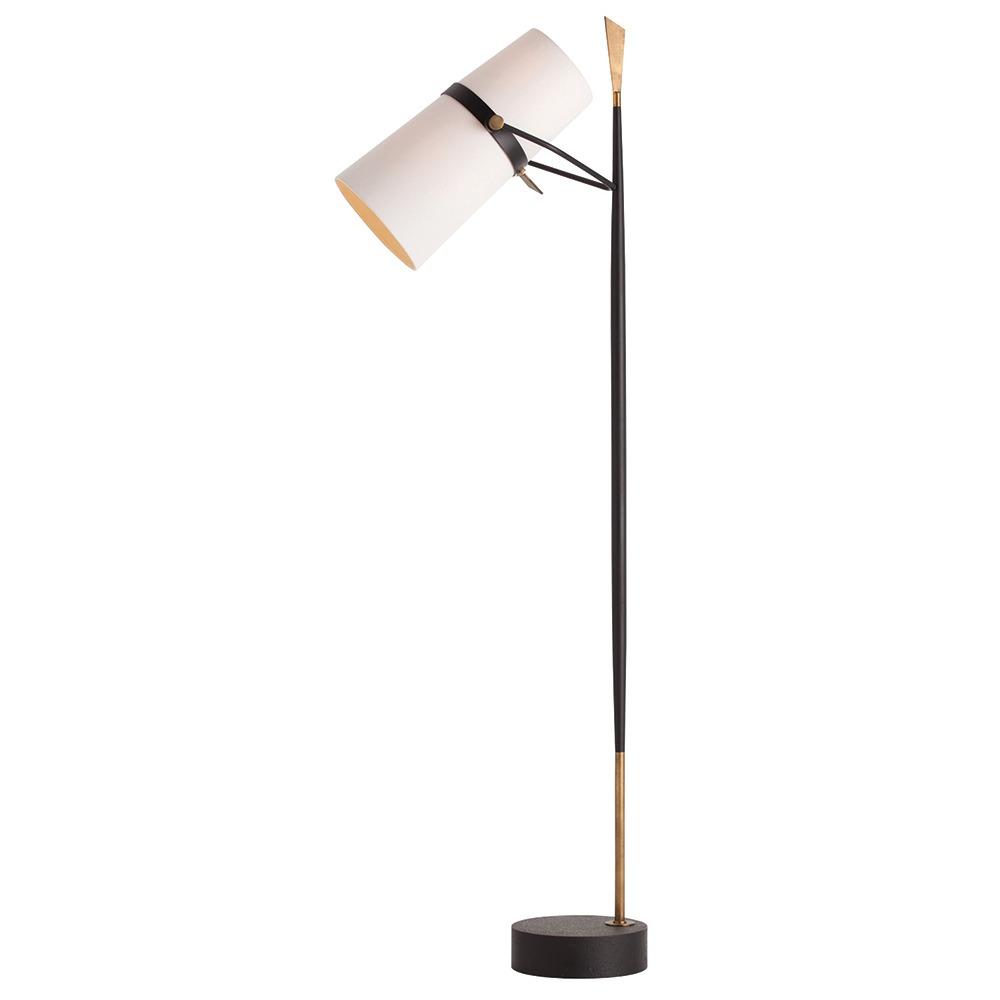 Arteriors yasmin floor lamp floor lamp neenas lighting antique blackantique brass material yasmin floor lamp aloadofball Image collections