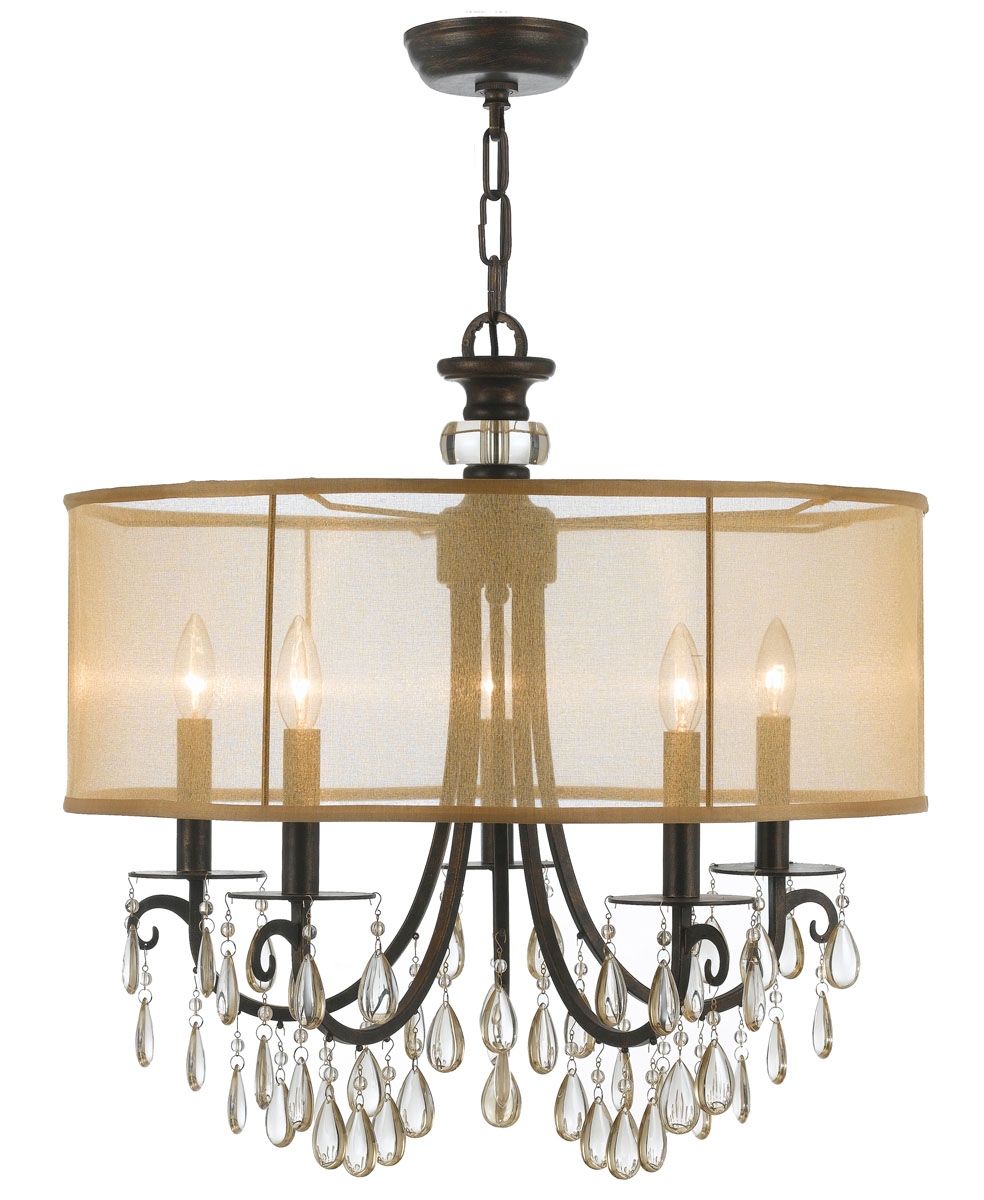 hampton 5 light chandelier. Black Bedroom Furniture Sets. Home Design Ideas
