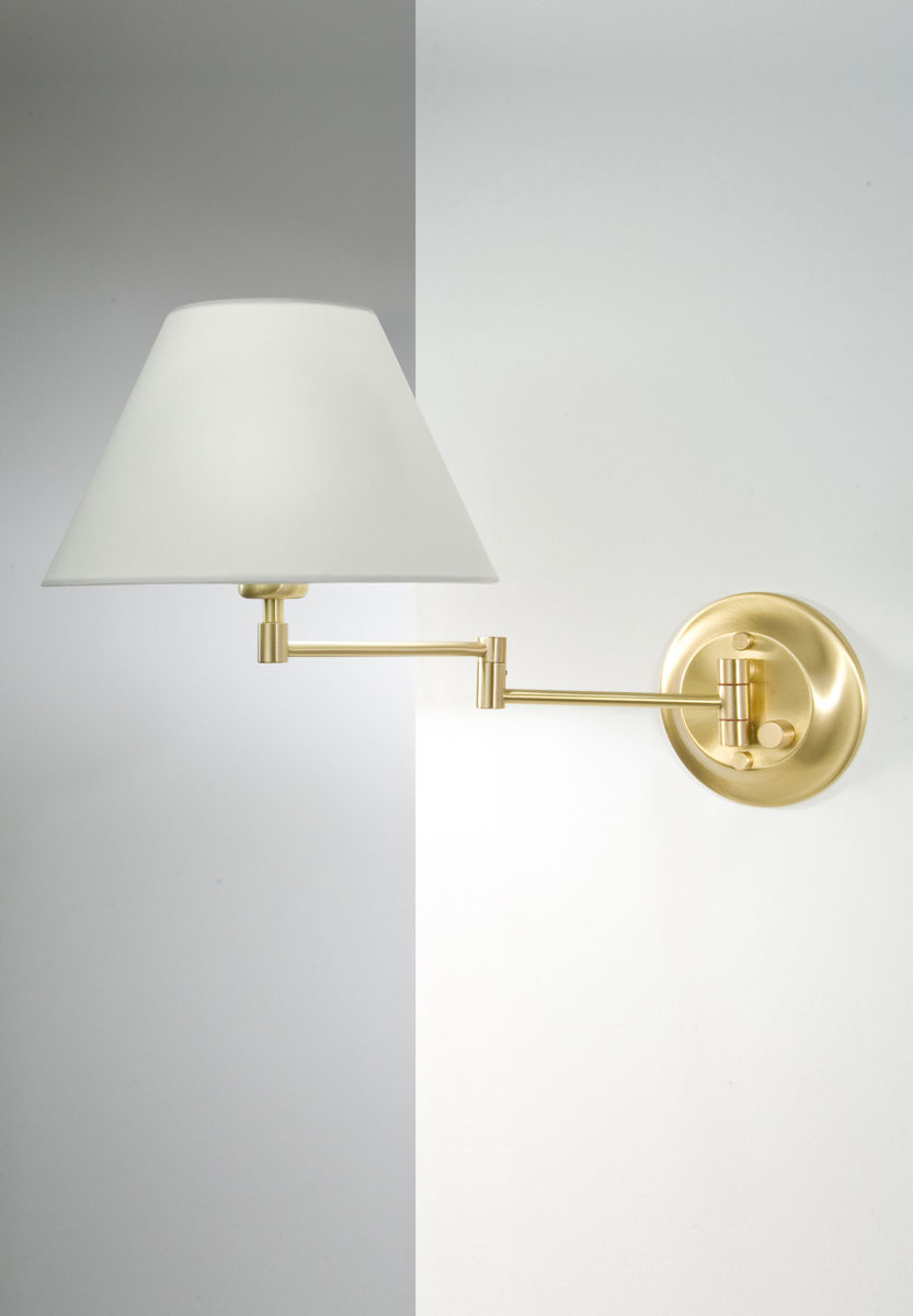 Holtkotter Swing Arm Wall Sconce Wall Mount Neenas Lighting