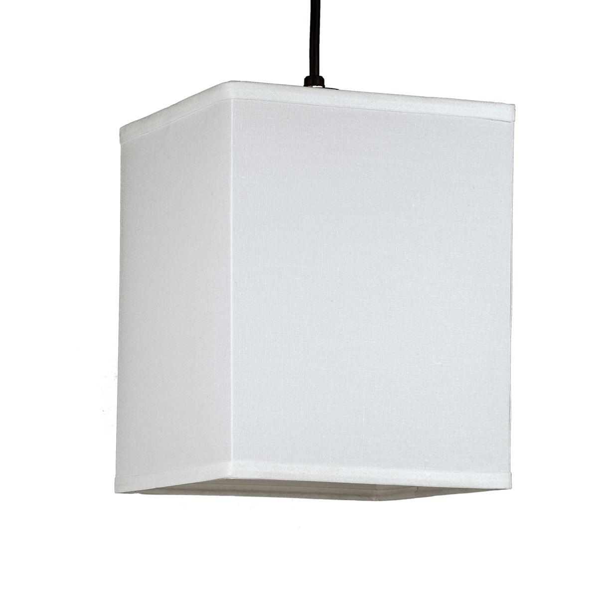 Lights Up Rex Small Square Pendant Light, Pendant Fixture | Neenas Lighting