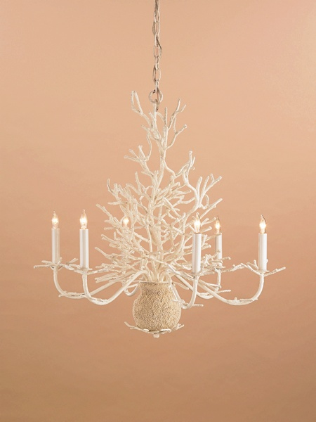 Currey Chandelier, Seaward Chandelier