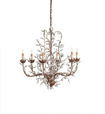 Crystal Bud Chandelier 1440.0000
