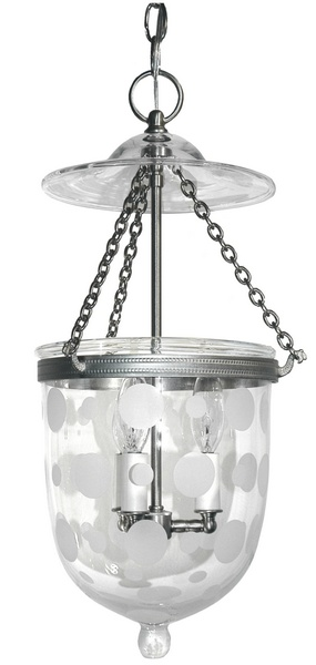 East End Brass The Small Hanging Bell Jar, Pendant Fixture | Neenas ...