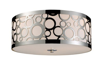 Retrovia 3-Light Flush Mount I
