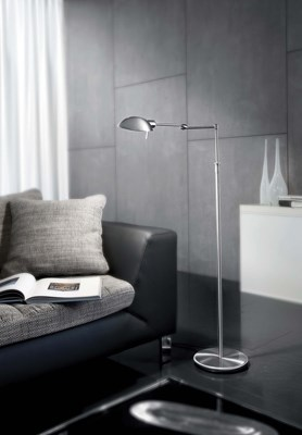 Led Chairside Floor Lamp