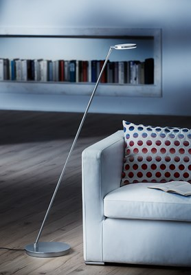 LED Floor Lamp With Movable Arm