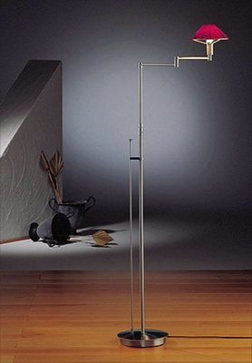 Holtkotter Floor Lamp, Transitional Floor Lamp, Halogen Floor Lamp