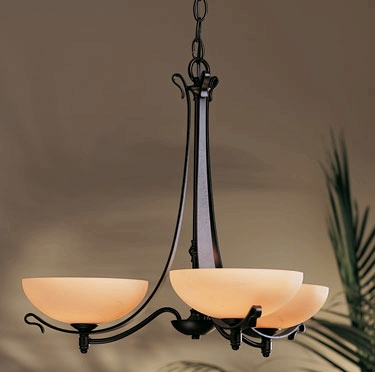 Hubbardton Forge Chandelier, Transitional Chandelier, 10-3080 Chandelier