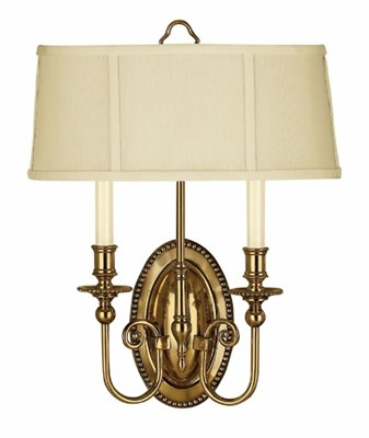2 Light Cambridge Sconce
