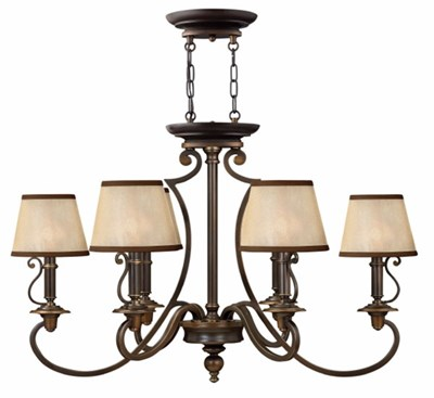 6 Light Plymouth Chandelier