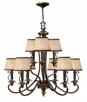 9 Light Plymouth Chandelier