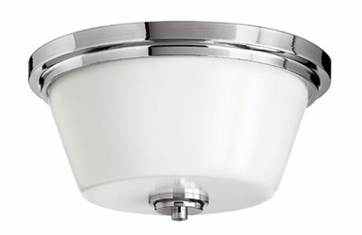 2 Light Flush Mount Bath