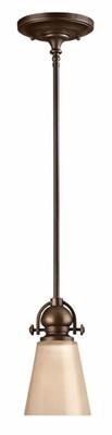 1 Light Mayflower Mini-Pendant