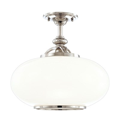 Canton 1 Light Semi Flush