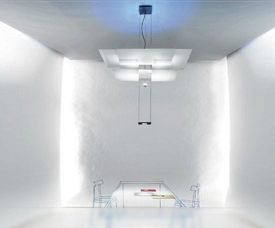 Ingo Maurer Chandelier, Contemporary Chandelier, OH MEI MA WEISS