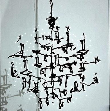 Ingo maurer luster chandelier neenas lighting luster chandelier from ingo maurer aloadofball Image collections