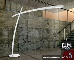 katana dual inside Floor Lamp