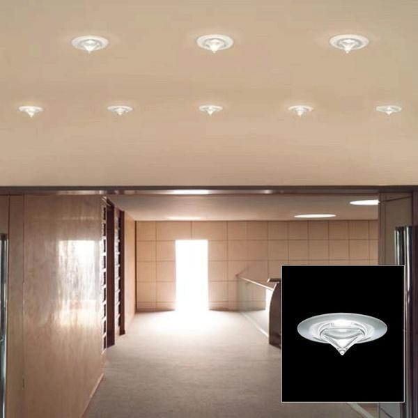 leucos drop a semi recessed recessed neenas lighting. Black Bedroom Furniture Sets. Home Design Ideas