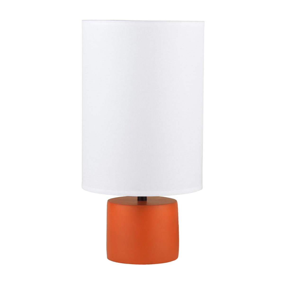 Lights up devo round table lamp table lamp neenas lighting geotapseo Images