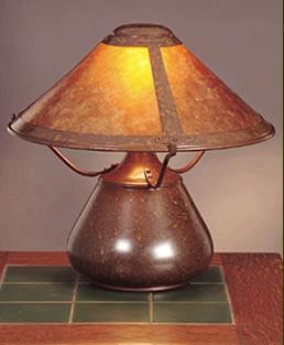 Mica Lamp