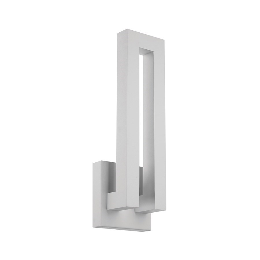 Modern Forms Forq 18 IndoorOutdoor Dimmable LED Wall Light
