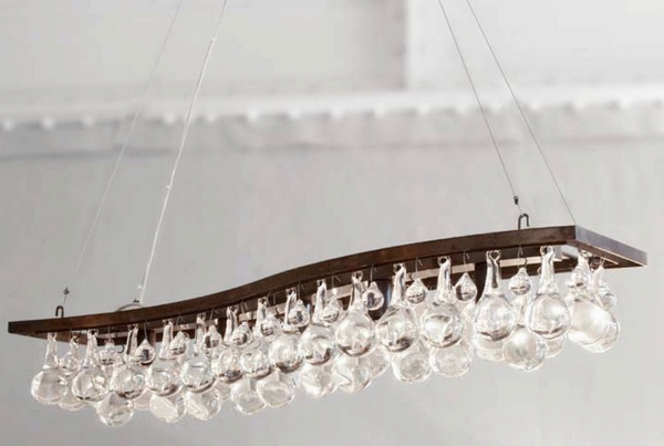 Ochre arctic pear wave chandelier chandelier neenas lighting arctic pear wave chandelier aloadofball Images