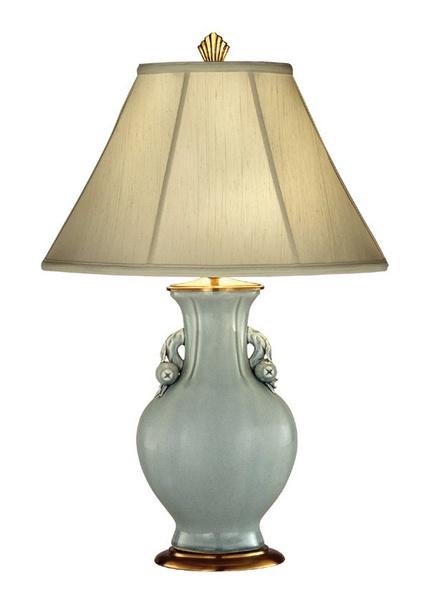 Celadon Porcelain Urn. Table Lamp ...