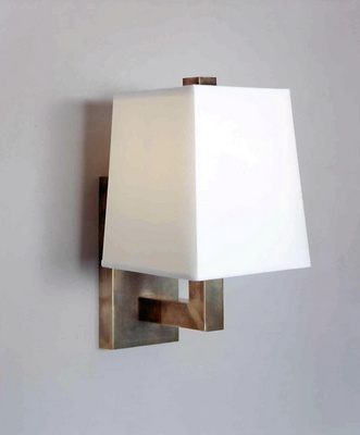 Nat Brass Wall Sconce W/