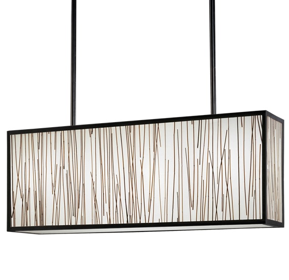 Robert abbey dakari z7504 rectangular pendant fixture neenas lighting dakari z7504 rectangular aloadofball Gallery