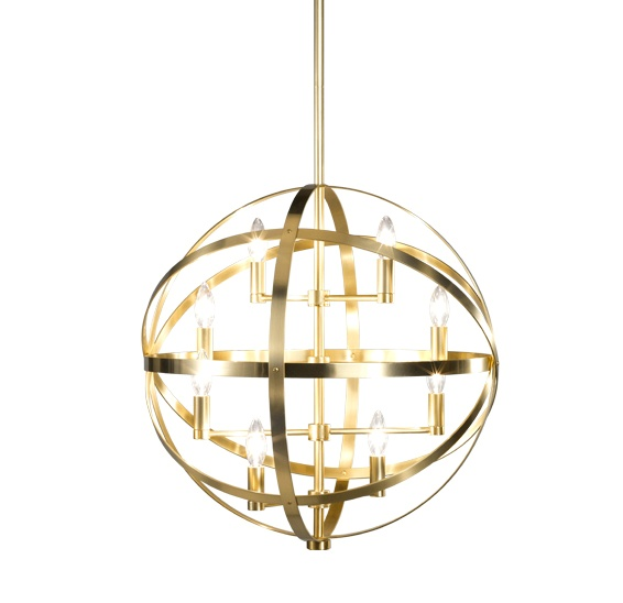 lucy 8 light pendant - Robert Abbey Lighting