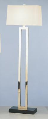 Ant Silver Fl Lamp W/
