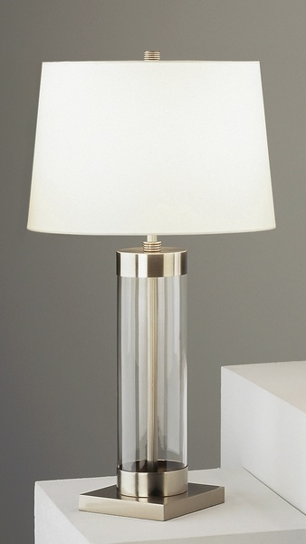 Robert abbey cylinder glass tl dan base table lamp neenas lighting aloadofball Image collections