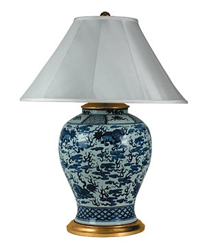 Delicieux LARGE FOO DOG. Table Lamp From Ralph Lauren