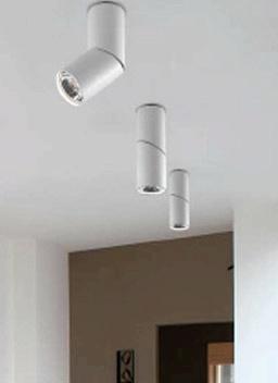 A Tube Pl2. Ceiling Mount From Studio Italia Design
