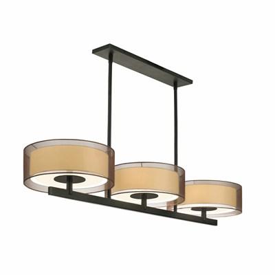 Puri 3-Light Bar Pendant