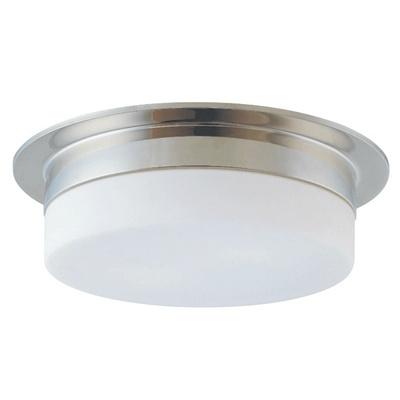 Flange surface mount lamp