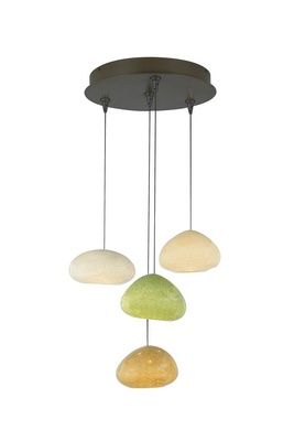 RIVER ROCK CHANDELIER