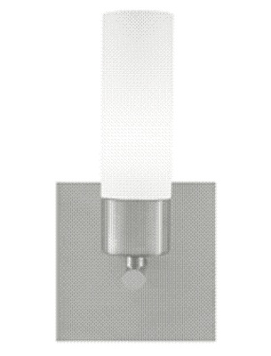 Largo Sconce. Frost white