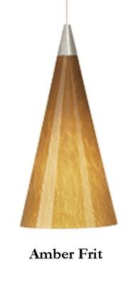 Taos Pendant. Cone shaped