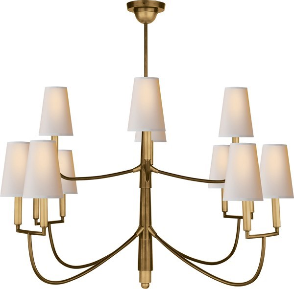 Visual comfort large farlane chandelier chandelier neenas lighting large farlane chandelier aloadofball Choice Image