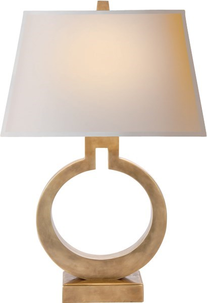 Visual Comfort Table Lamp Large Ring Table Lamp