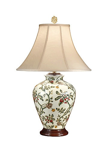 Lovely Gooseberry Cherry Lamp. Table Lamp From Wildwood Lamps