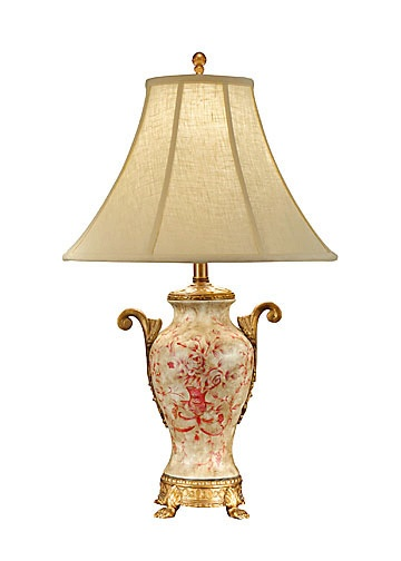 Wildwood Lamps Simple Toile Lamp, Table Lamp | Neenas Lighting