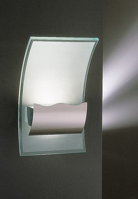 Halogen Wave Wall Sconce