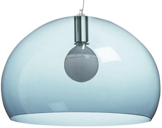 Transparent light blue color - Lampe kartell occasion ...