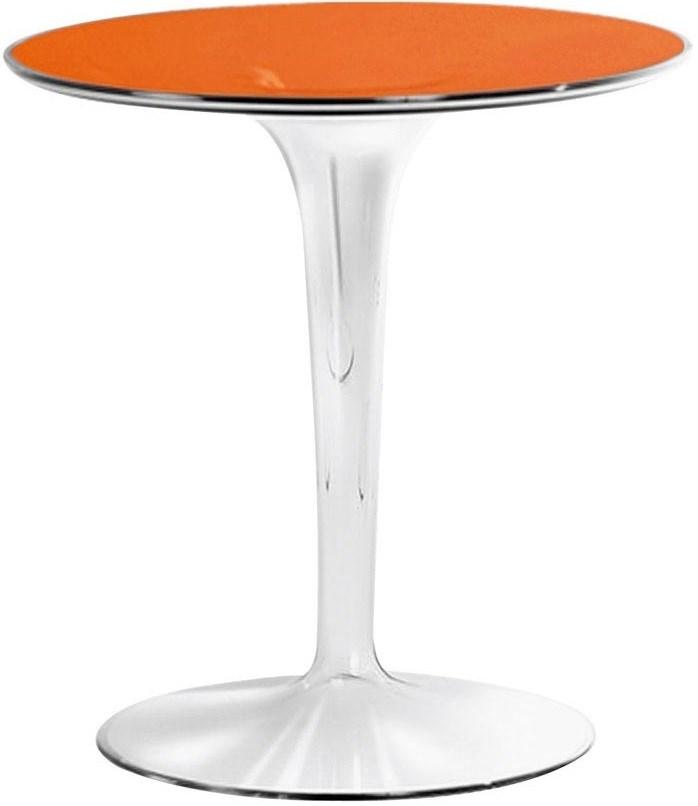 TipTop Tables, Transparent Orange Color