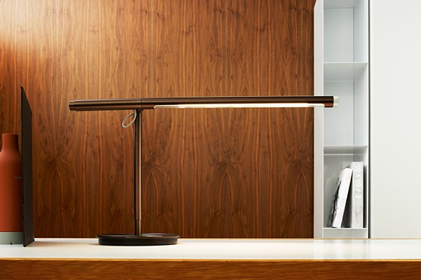 Pablo brazo table lamp neenas lighting bronze finish chevronleft chevronright brazo aloadofball Gallery