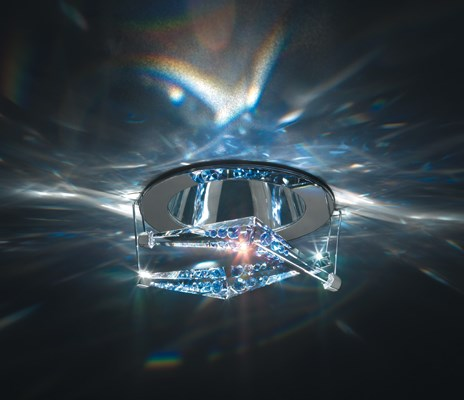 swarovski breath crystal luminaire recessed lights neenas lighting. Black Bedroom Furniture Sets. Home Design Ideas